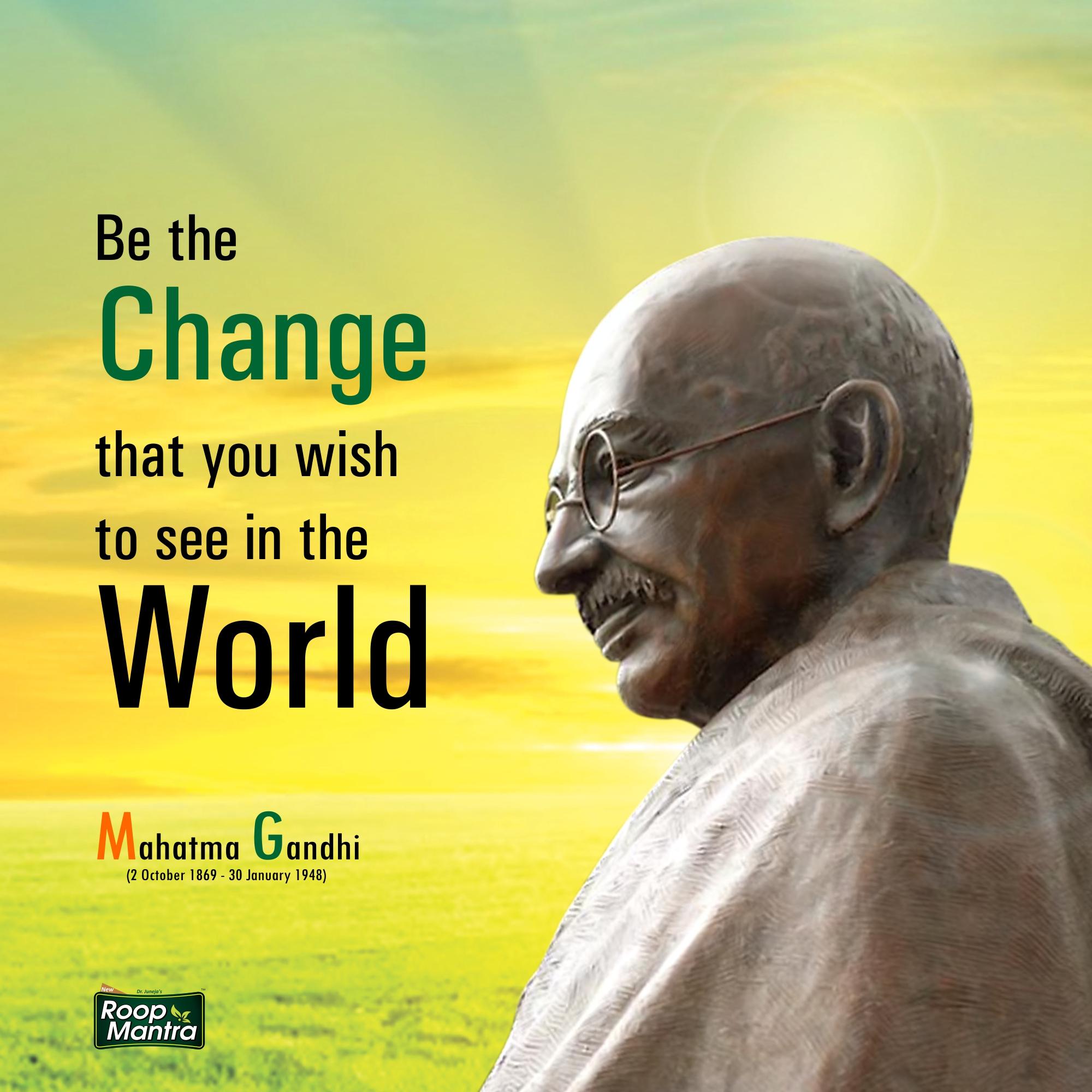 Mahatma Gandhi Jayanti In India-Monday, 2 October- Indian