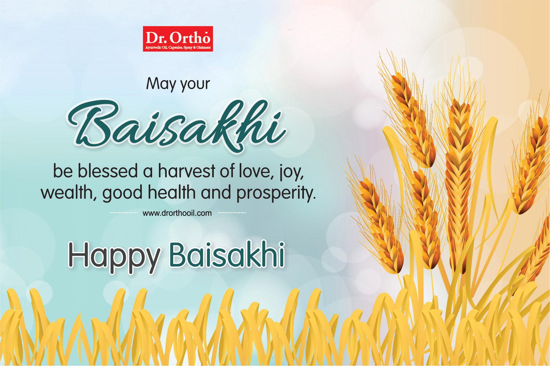 13 April 2018, Baisakhi Day, Indian Festival, Dr. Ortho