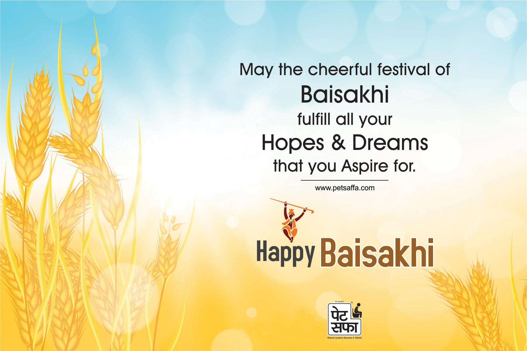 13 April 2018, Baisakhi Day, Pet Saffa, Indian Festival