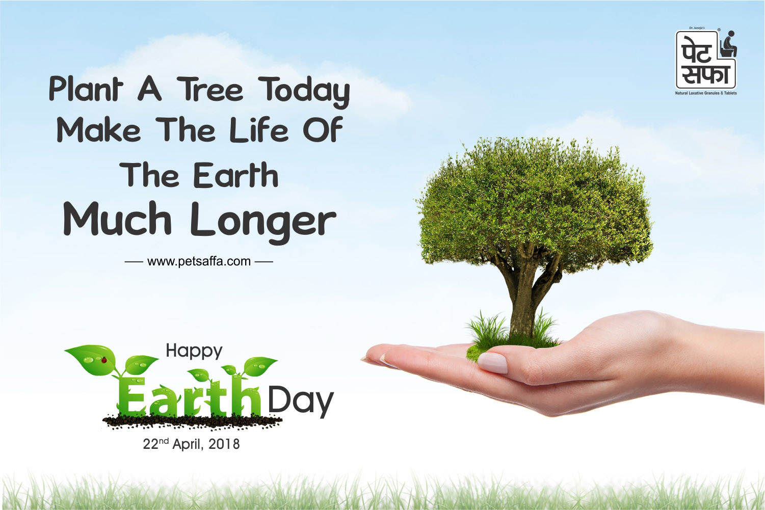 22 April 2018, Happy Earth Day, National International Day, Pet Saffa