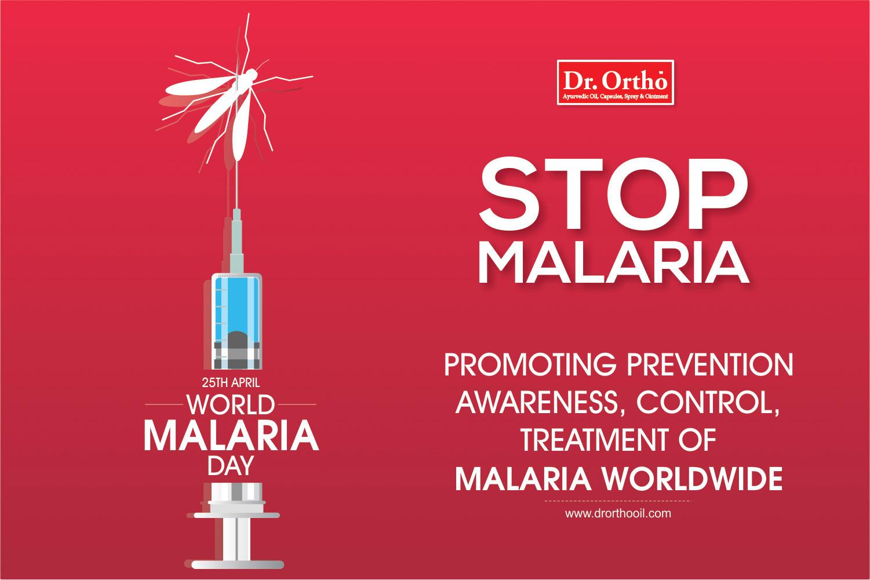 25 April 2018, World Maleria Day, Stop Maleria, Dr. Ortho