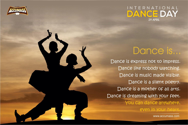29 April 2018, International Dance Day, Accumass